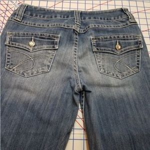 INC DENIM Capri Size 6P Regular Fit